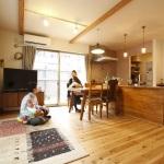 中古住宅を購入して 住みたい空間にリフォーム